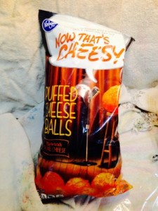 Kroger Puffed Cheese Balls 7 oz