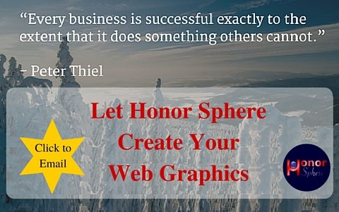 Let Honor Sphere Create Your Web Graphics