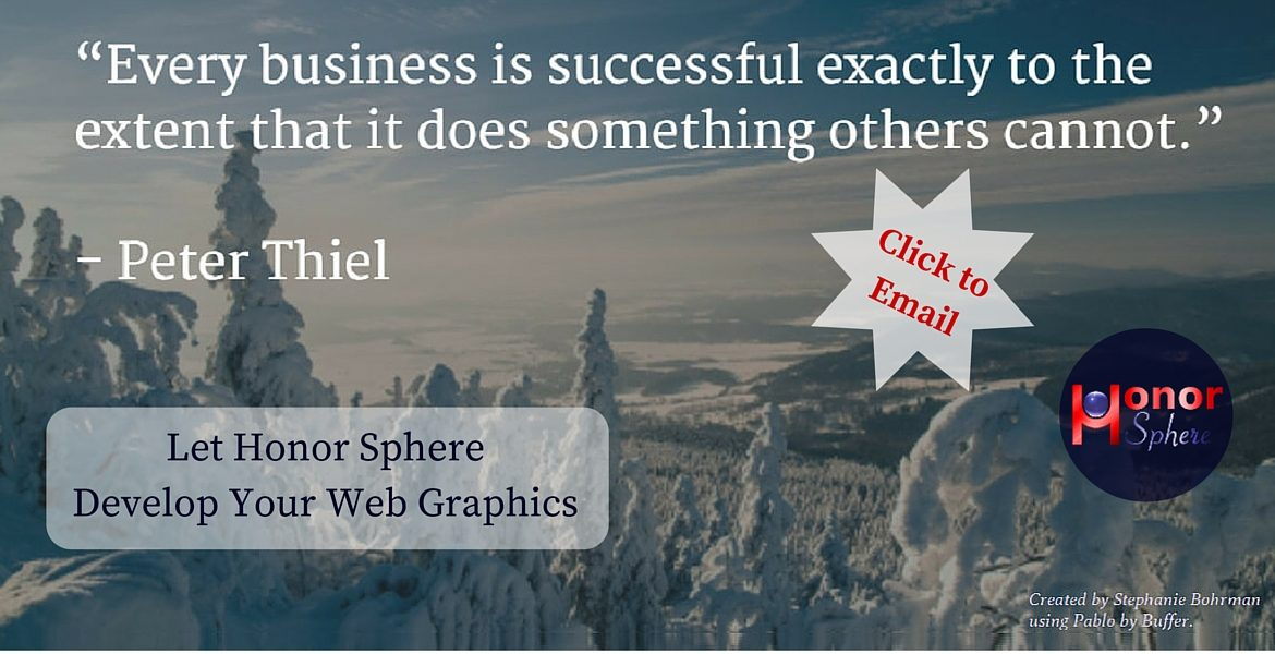 Let Honor Sphere Develop Your Web Graphics