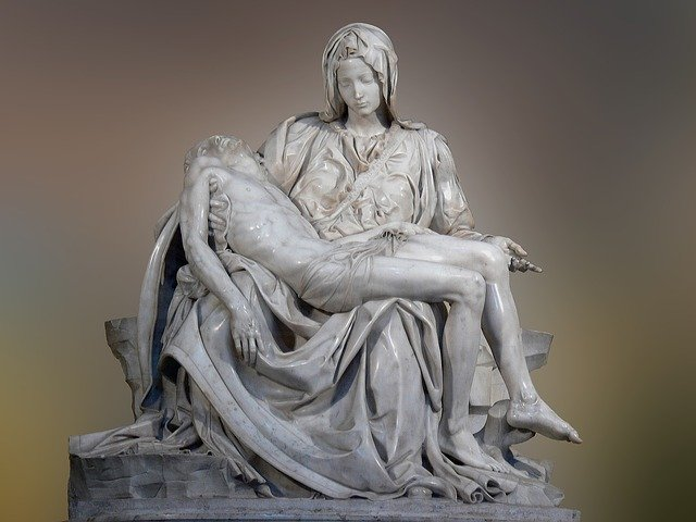 Michelangelo statue, Rome