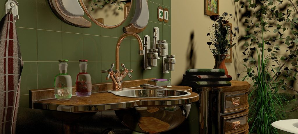 Homes - Bathroom The Interior Of The Design