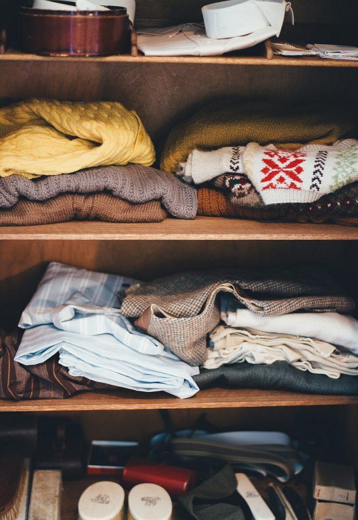 Homes - Cabinet Clothes Garments Shelves