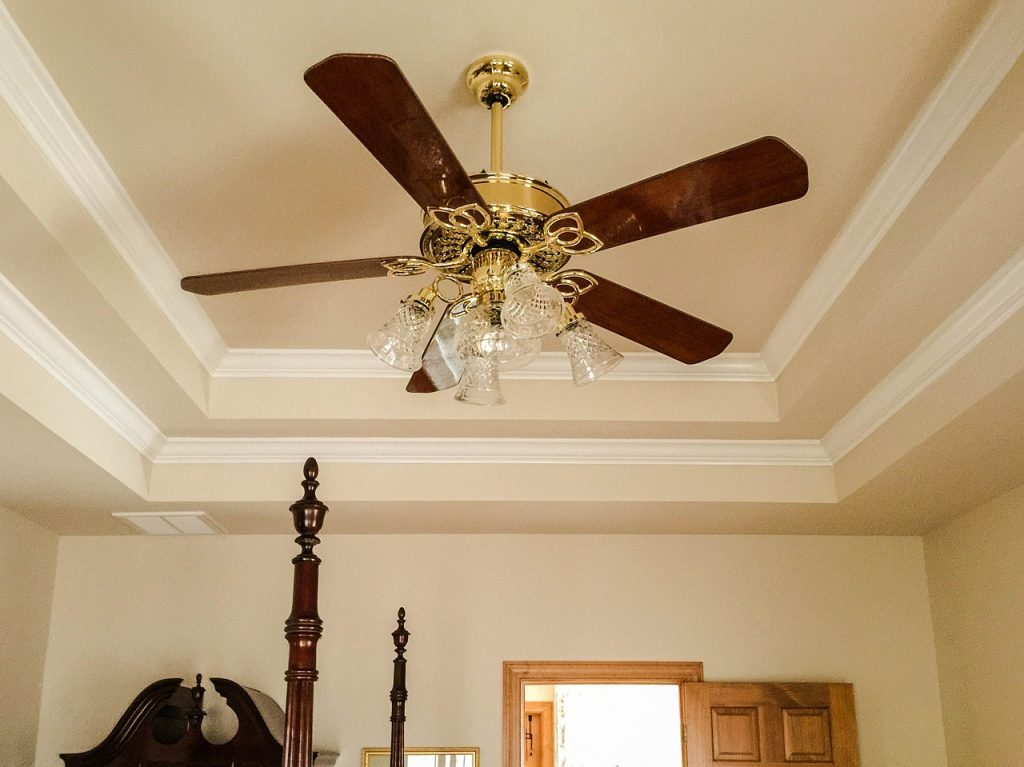Homes - Ceiling Fan Tray Ceiling