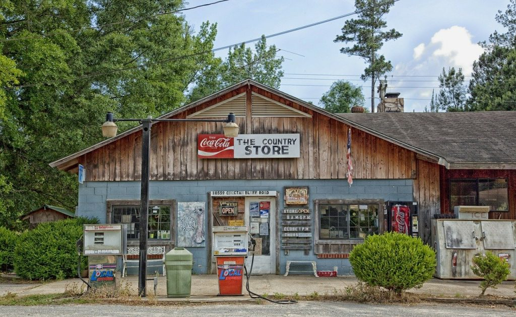Welfare - Choctaw Bluff Alabama General Store