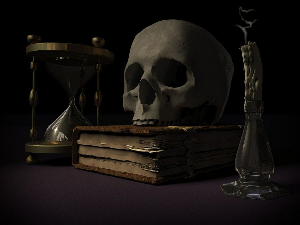 Mortality Skull And Crossbones