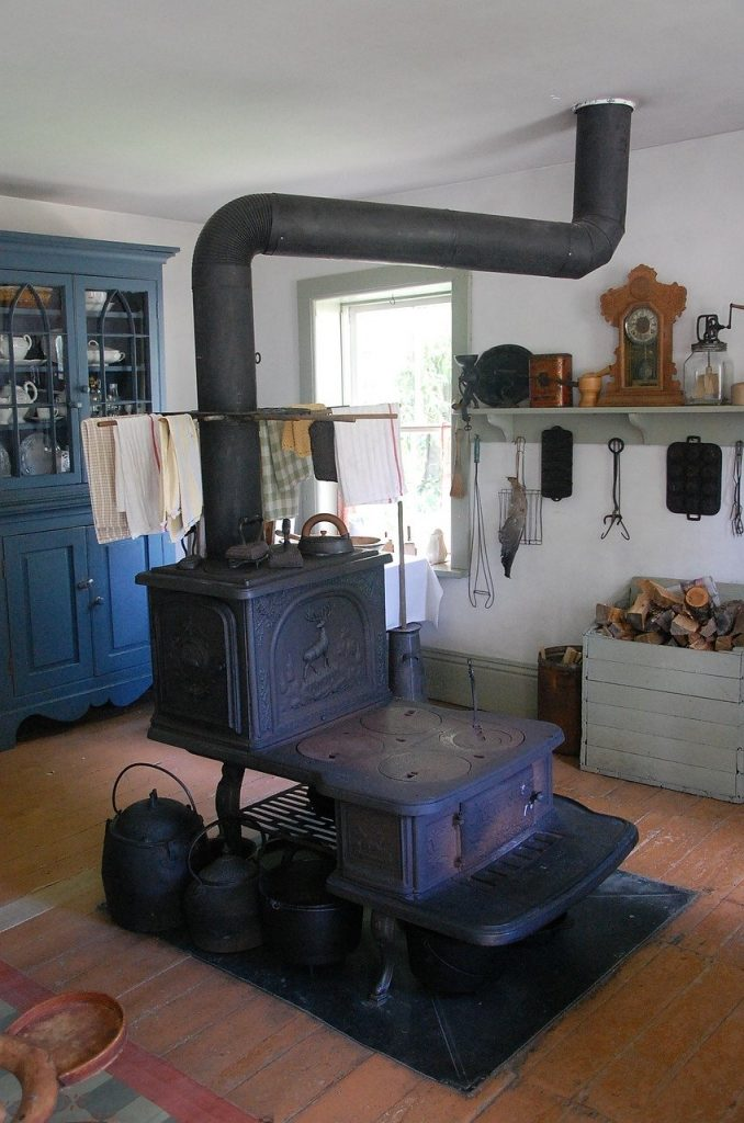 Homes - Old Wood Stove Wood Stove Pioneer