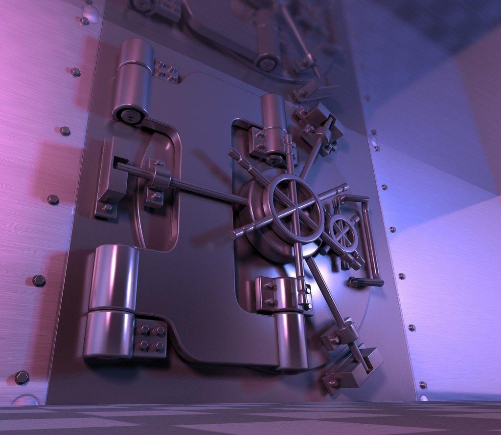 Safe Vault Steel Door Banking