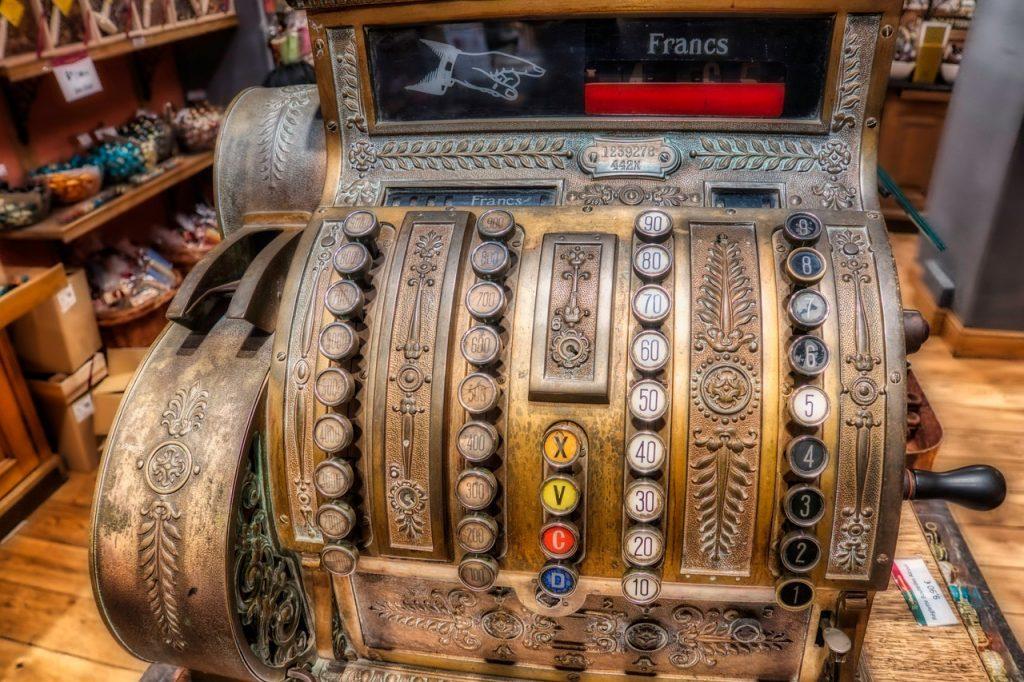 Wlfare - Till Cash Register Old Vintage
