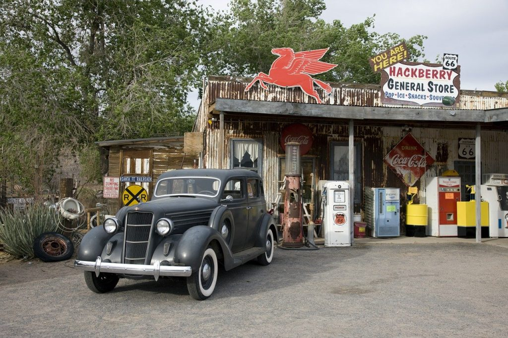 Welfare - Vintage General Store Auto Car