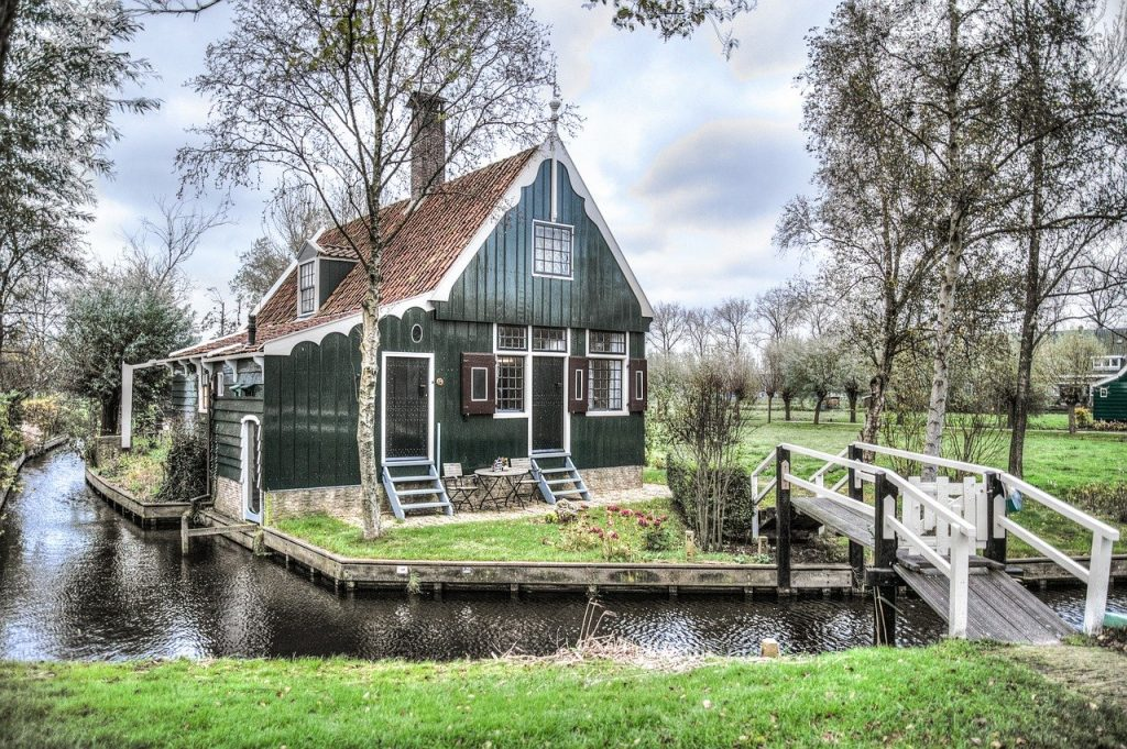 Homes - Zaandam House Dutch Netherlands