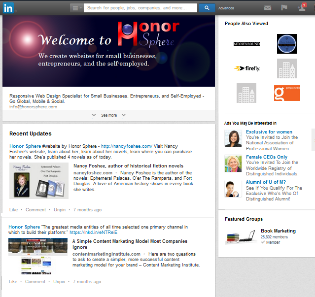 Honor Sphere on LinkedIn