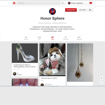 Honor Sphere Pinterest Site
