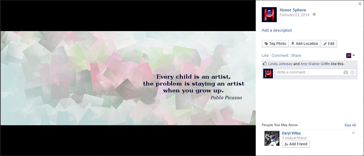 Every child is an artist, the problem is staying an artist when you grow up. Pablo Picasso