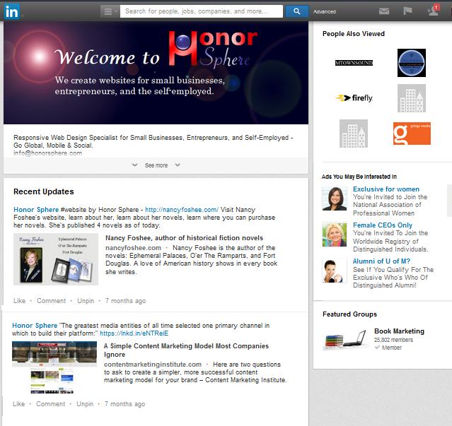 Honor Sphere on LinkedIn