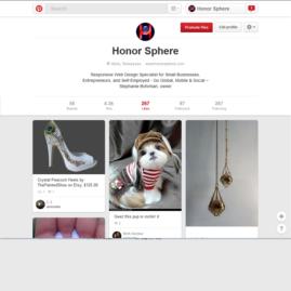 Honor Sphere Pinterest Site